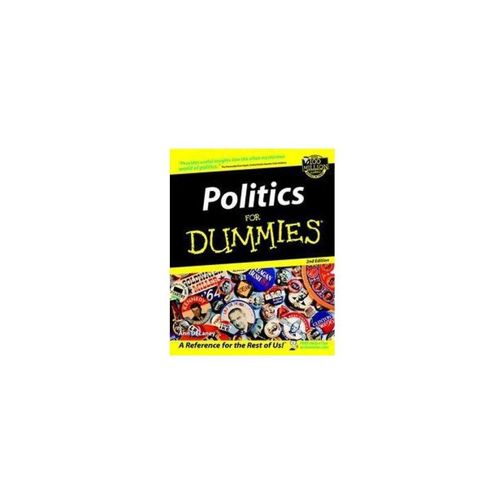 Politics for Dummies ( For Dummies Series) (Subsequent) (Paperback)