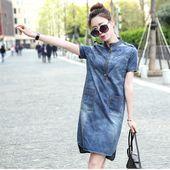 Идей на тему «Джинсовые Платья в Pinterest»: 17 лучших | Летние платья, Платье из шамбре и Платье повседневное