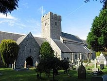 The Church of St Illtyd, Llantwit Major, Wales