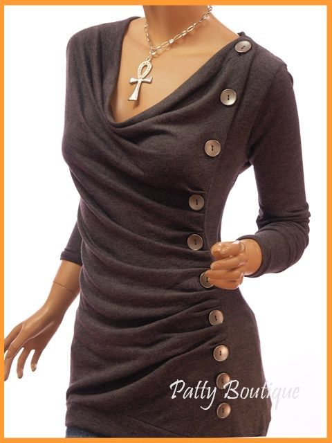 upcycled clothes | Upcycled Clothing / Another great idea to add shape and style and a ...