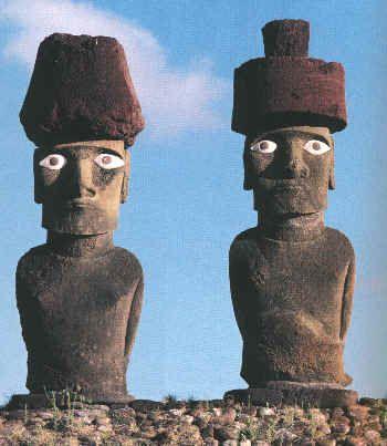 26.000 años (25.776): Isla de Pascua: los moáis