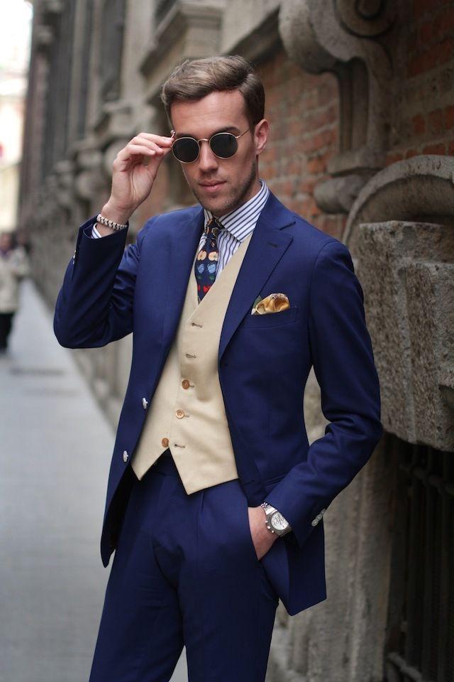 Latest Coat Pant Designs Navy Blue Formal Men Suit Formal Slim Fit