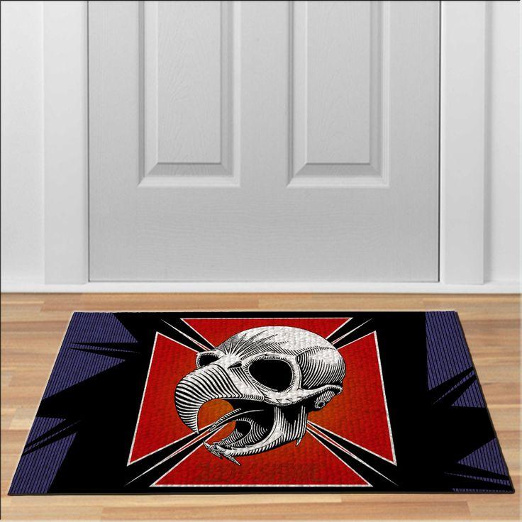 cool TONY HAWK SKATEBOARD Floor Durable Door Mat Non-Slip