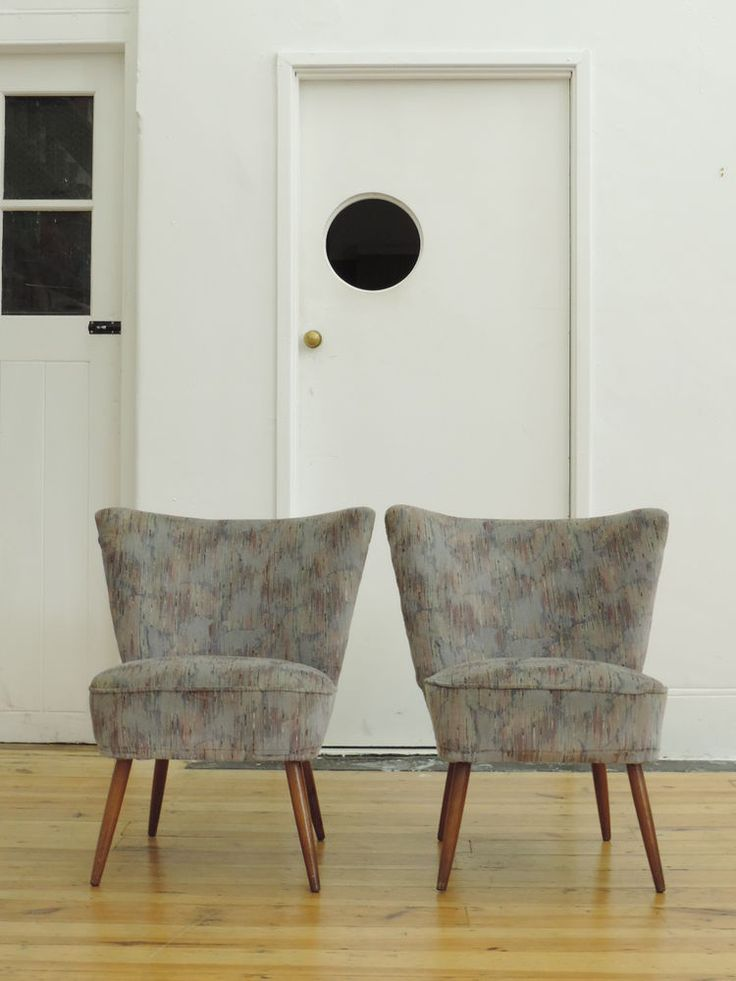 PAIR OF VINTAGE MIDCENTURY GERMAN COCKTAIL CHAIRS RETRO in Antiques   Antique Furniture  Chairs   eBay. 10  images about Emily s Bedroom on Pinterest   Armchairs  Bed