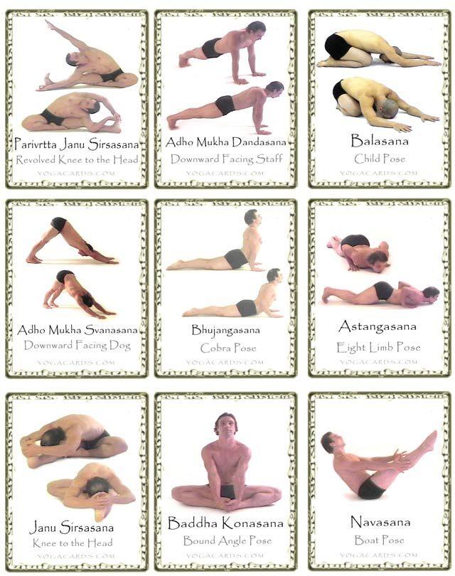printabe yoga poses