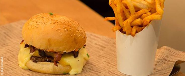 Big Fernand : le meilleur hamburger de Paris - Daddy Coool