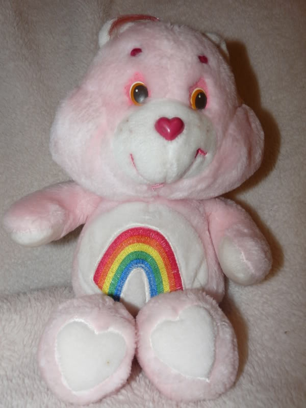 Oh, how I loved Cheer Bear. :)Bears Whereimfrompartii, Childhood Memories, Fav Things, Memories Lane, 80S Childhood, Care Bears, Bears Stuffed, Cheer Bears, Ahhh Childhood