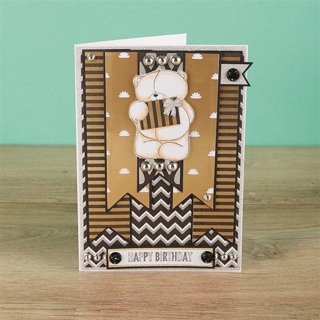 Forever Friends Classic Decadence Handmade Card Tutorial   docrafts.com