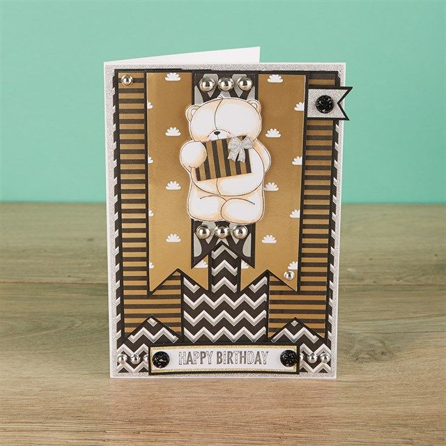 Forever Friends Classic Decadence Handmade Card Tutorial | docrafts.com