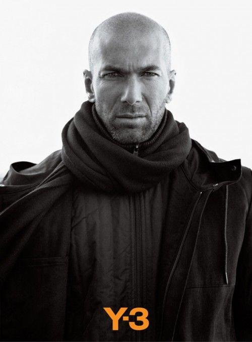 Yup, he's still got it.    Zinedine Zidane for Y3.