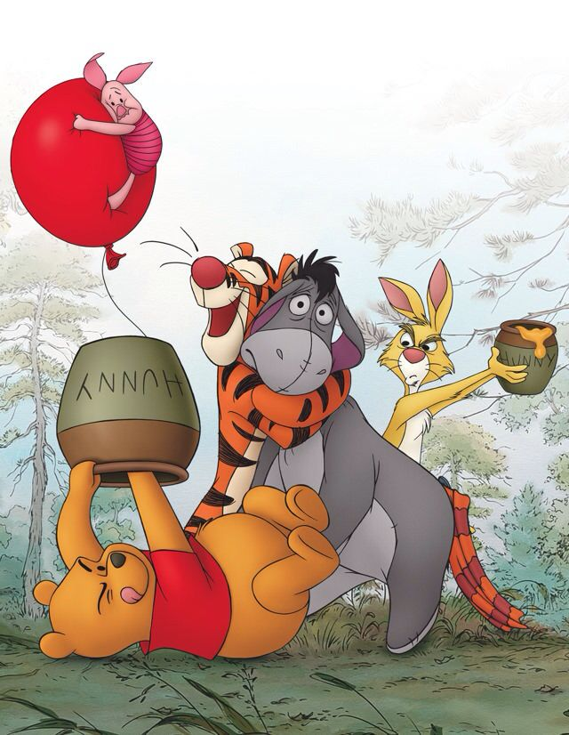 Eeyore's face in this picture <3