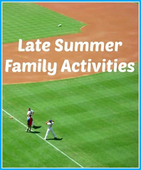 Summer vacation may be almost over, but there is still plenty to do!
