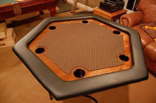 portable octagon poker table