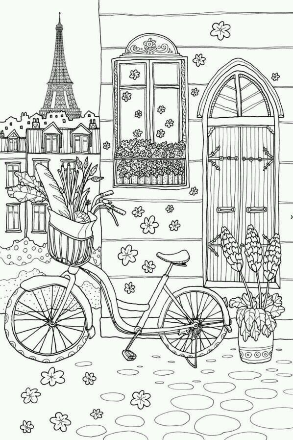 The Top 23 Ideas About Paris Coloring Book For Adults - Best Coloring Pages  Inspiration And Ideas Coloring Books, Coloring Pages, Coloring Book Pages