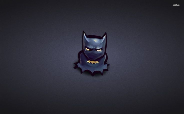 Chibi Batman HD Wallpaper