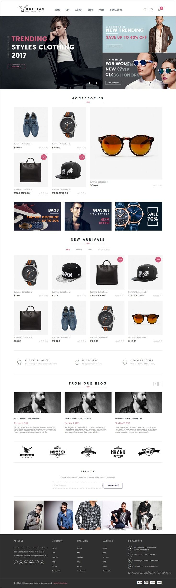 Bachas is beautifully design responsive #Shopify theme for #webdev stunning #eCommerce website with 4 unique homepage layouts download now➩ https://themeforest.net/item/bachas-multipurpose-responsive-shopify-theme/18630693?ref=Datasata