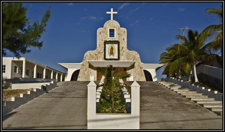 Iglesia en la Isla Mujeres