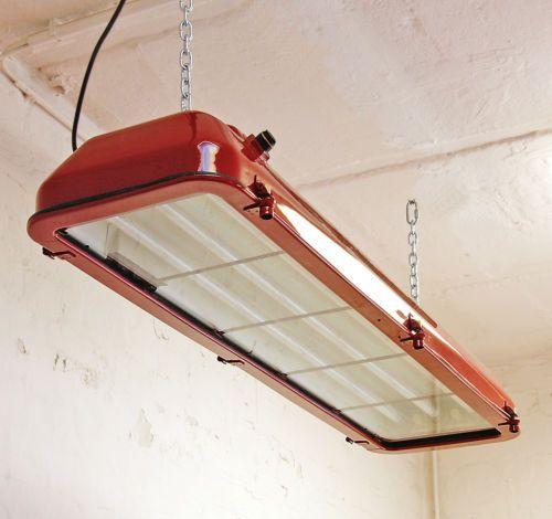 details zu ex leuchte industrie design neon lampe bunker billard fabriklampe antik eow. Black Bedroom Furniture Sets. Home Design Ideas