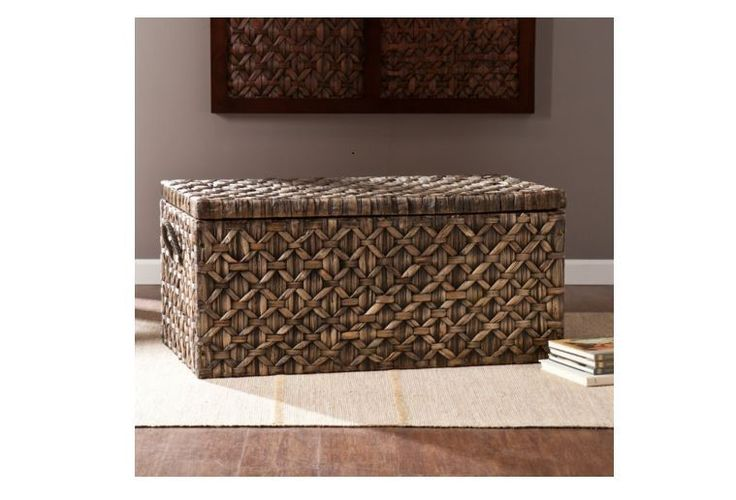 Storage Trunk Chest Bench Furniture Coffee Table Accent Blanket Cabinet Ottoman #Unbranded #Contemporary