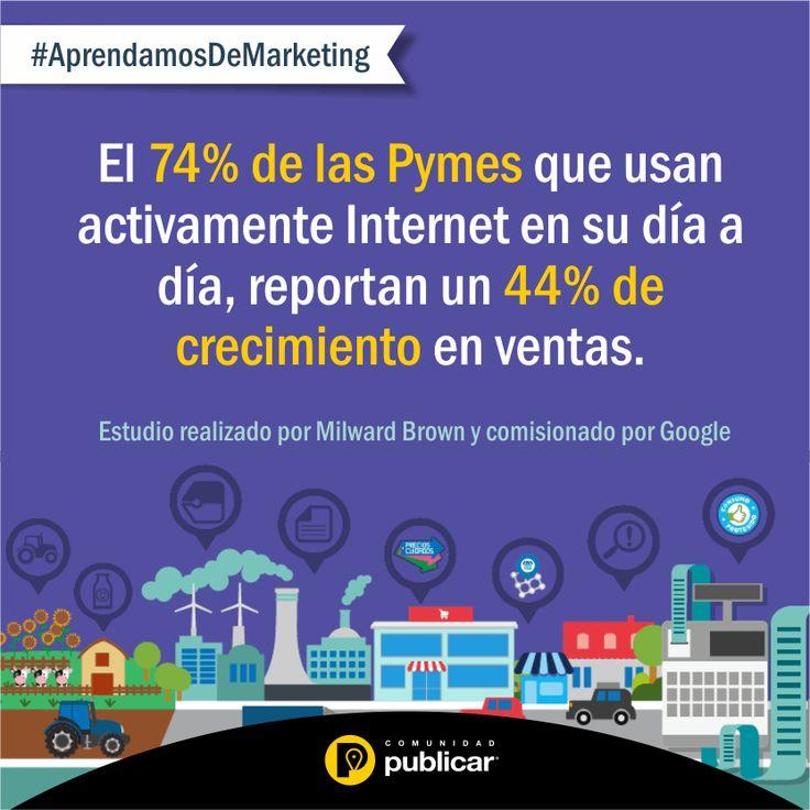 #AprendamosDeMarketing Las #Pymes en Colombia generan más del 50% del empleo nacional y contribuyen un 40% en la producción total del país.