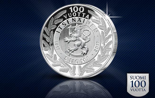 Tiesitkö, että #Suomi100vuotta --juhlamitalissa esiintyvä ylväs Suomen leijona on maamme vanhin symboli? Se esiintyy mm. Kustaa Vaasan 1580-luvulla valmistuneessa hautamonumentissa.