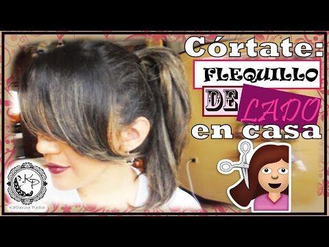 Córtate flequillo para AMBOS LADOS en casa - Katherine Piedra - YouTube