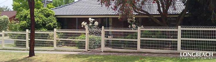 Woven Wire Fencing | Federation Wire, Ornamental Gates | Melbourne | Longbeach Fencing