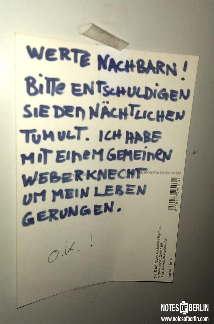 Manitiusstraße | #Neukölln // Mehr #NOTES findet ihr auf www.notesofberlin.com