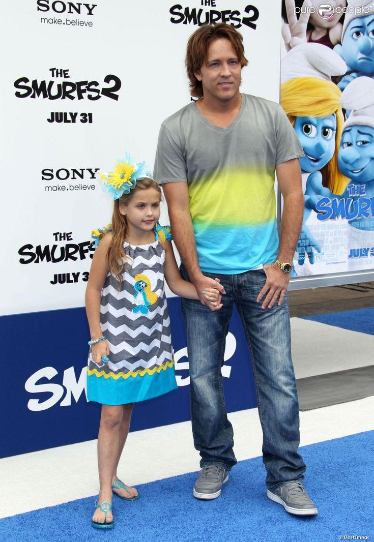 """Dannielyn Birkhead (la fille de Anna Nicole Smith) à la première du film """"Les Schtroumpfs 2"""" à Westwood, le 28 juillet 2013."""