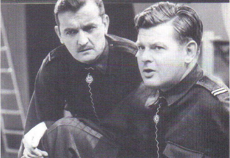 Benny Hill and Graham Stark