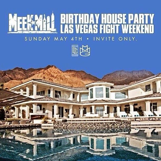 The Hip Hop Music World: MEEK MILL - BIRTHDAY LAS VEGAS [HOUSE PARTY]