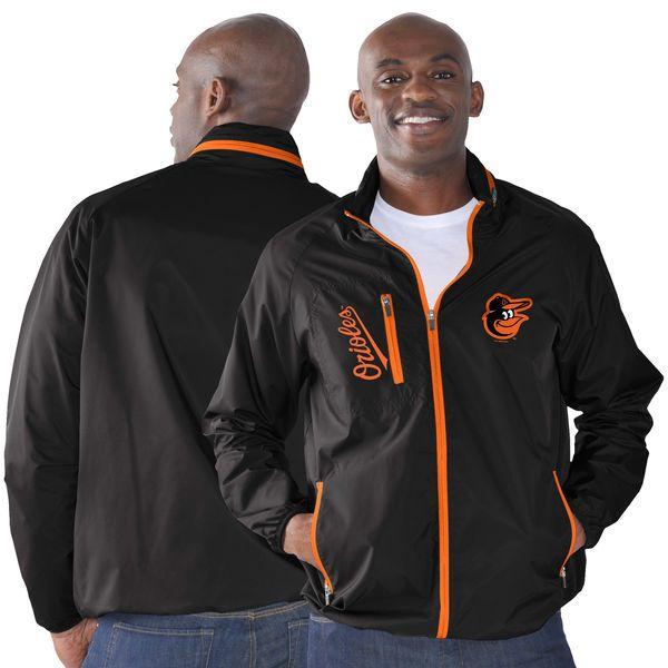 Baltimore Orioles G-III Sports by Carl Banks Game Plan Full-Zip Jacket - Black - $74.99