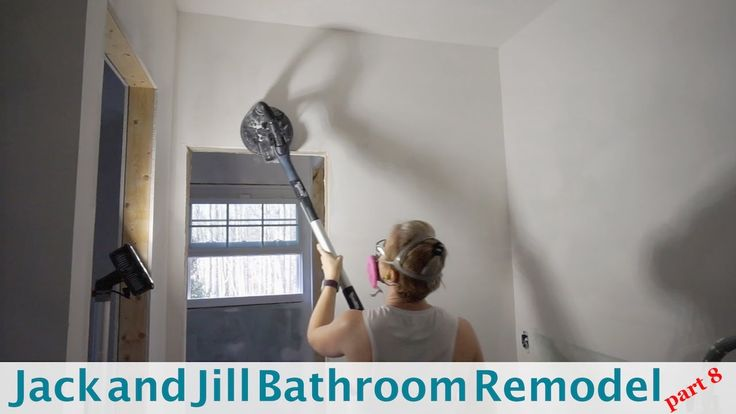 Jack and Jill Bathroom (Part 8) --Using a Festool Planex