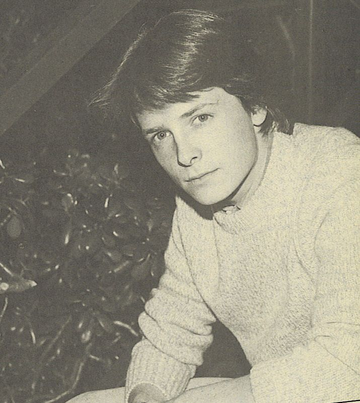 The young Michael J. Fox. Family Ties and Back to the Future = da best