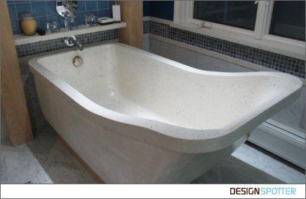 48 Best Concrete Bathtubs Images On Pinterest Bathroom Bathrooms And Half Bathrooms