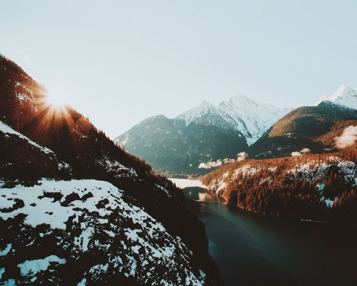 G'morning from the North Cascades -