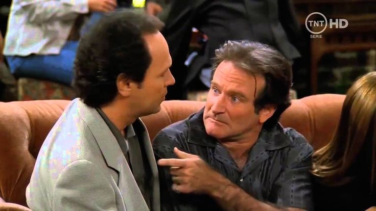 Robin Williams & Billy Crystal cameo on Friends. RIP Robin <3