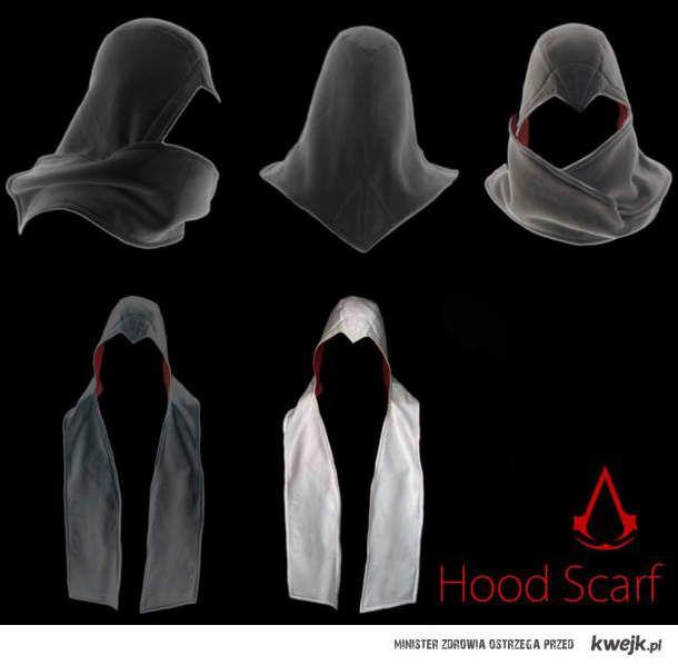 Assassin's Creed Hood Scarf - Imgur