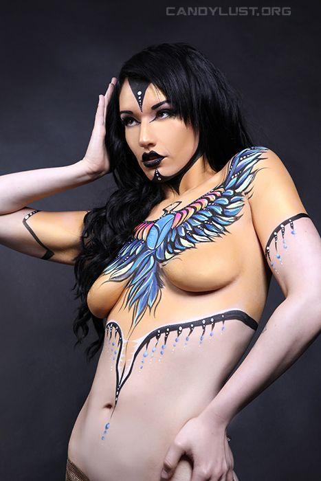 Candylust Photography For Char Lala Bodypaint Artist -8872