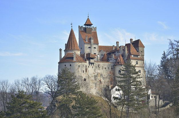 """Dracula's Castle"" Is Up For Sale And It's Actually Really Beautiful"