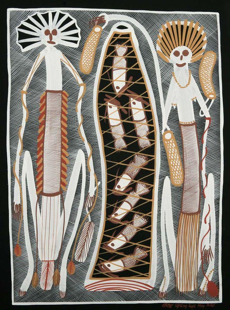 Edward Blitner - aboriginal art