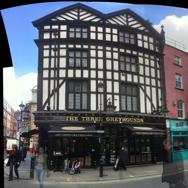 Classic Tudor Frame in London  Captured may 2012