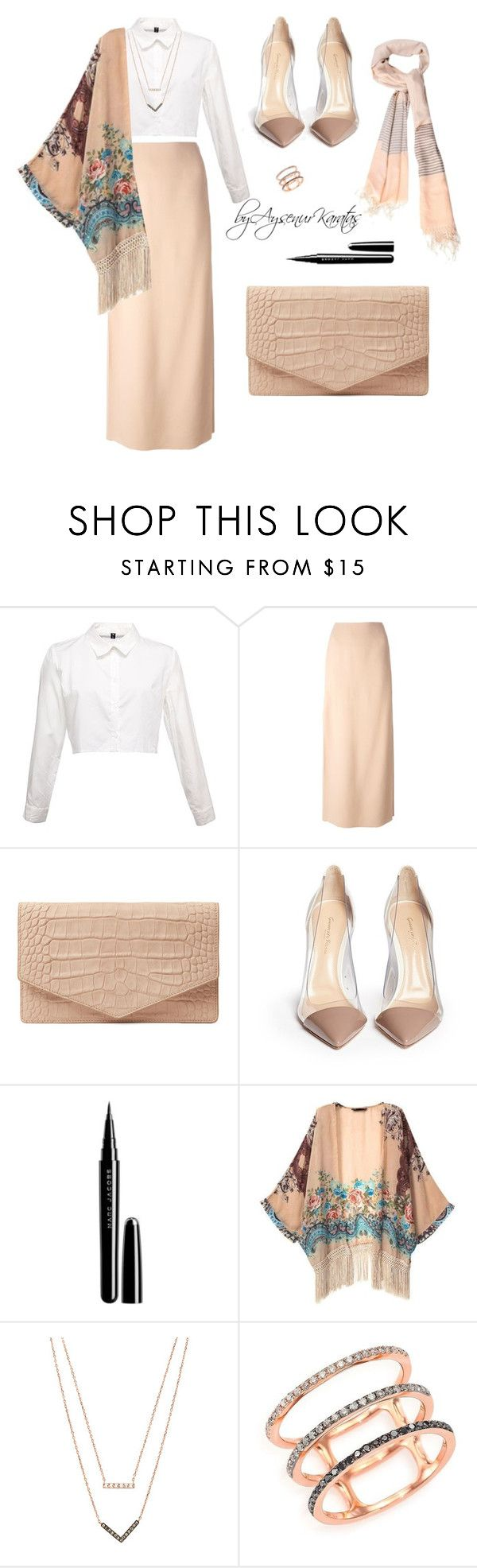 Hijab Style by aysenurkaratas on Polyvore featuring moda, Retrò, Lanvin, Gianvito Rossi, Emily Cho, EF Collection, Michael Kors and Marc Jacobs #hijab #fashion #hijaboutfits