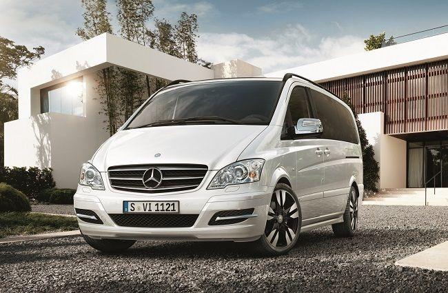 The #MercedesBenz Grand Edition #Viano #AVANTGARDE