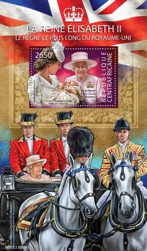 CA15325b Elisabeth II, the longest reigning queen (Catherine, Duchess of Cambridge, Princess Charlotte Elizabeth Diana of Cambridge)