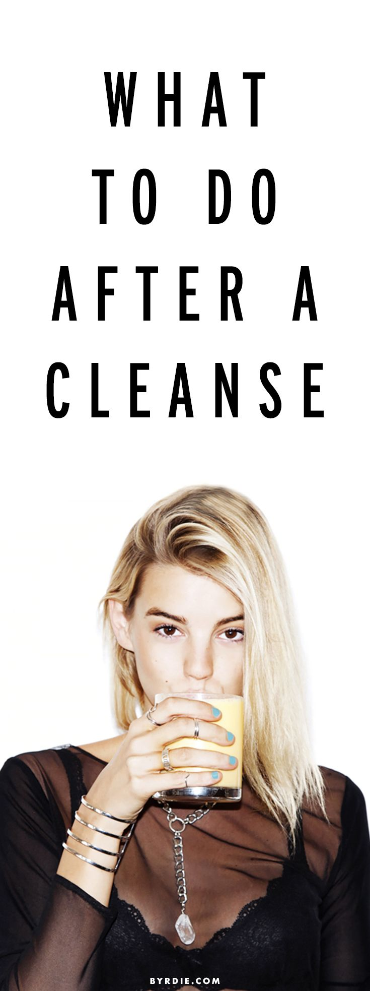 3 things you should do after any cleanse
