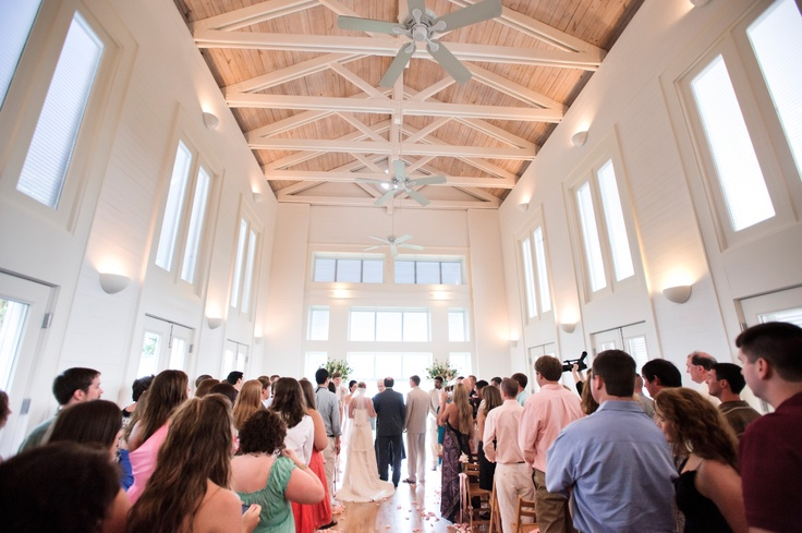 Carillon Beach Wedding; The Meeting House