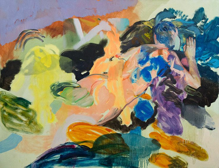 Winston Chmielinski - Creature Comforts, 2013, Oil on canvas, 110 x 140 cm // at Egbert Baqué Contemporary Art, Berlin