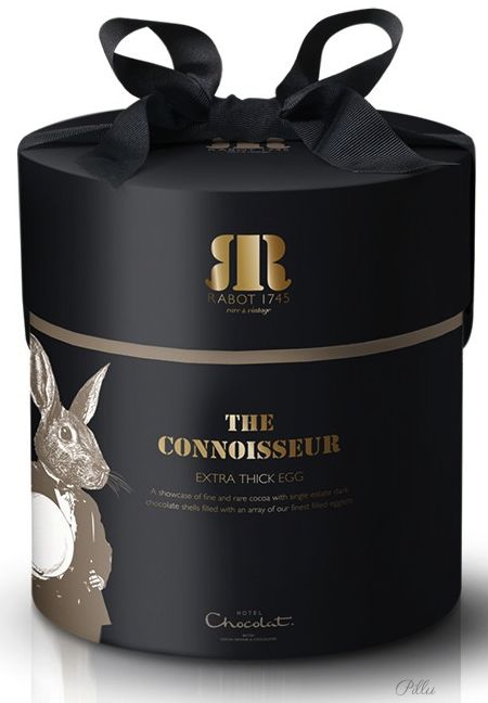 Hotel Chocolate bunny ears #packaging via hotelchocolat.com PD