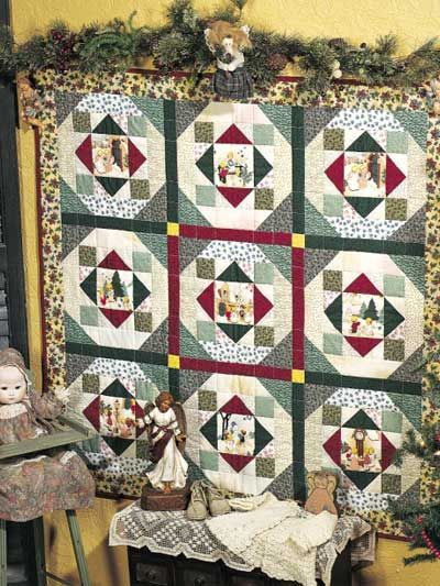 Quilting - Christmas QuiltsMake an easy Christmas wall quilt using a design motif from your favorite Christmas fabric. This free quilt pattern is quick to ... & 76 best Free Christmas Quilt Patterns images on Pinterest ... pillowsntoast.com